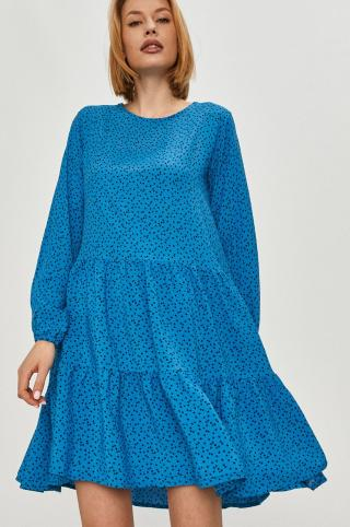 Answear Lab - Šaty dámské modrá S