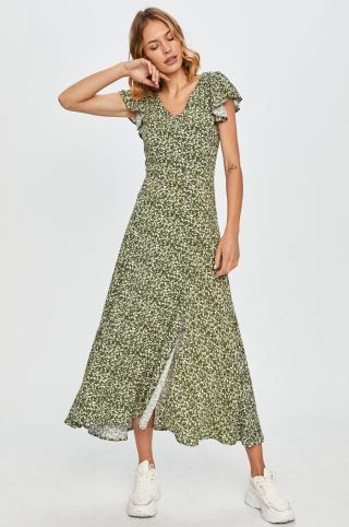 Answear Lab - Šaty dámské zelená S