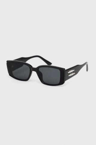Answear Lab - Slnečné okuliare dámské čierna ONE SIZE