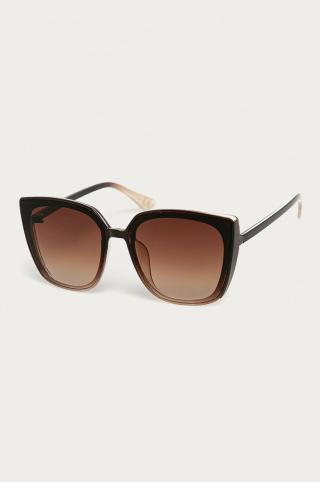 Answear Lab - Slnečné okuliare dámské hnedá ONE SIZE