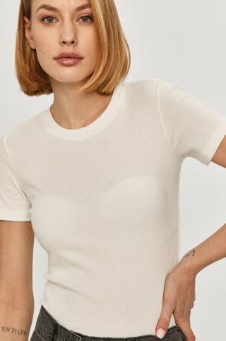 Answear Lab - Tričko dámské biela XS