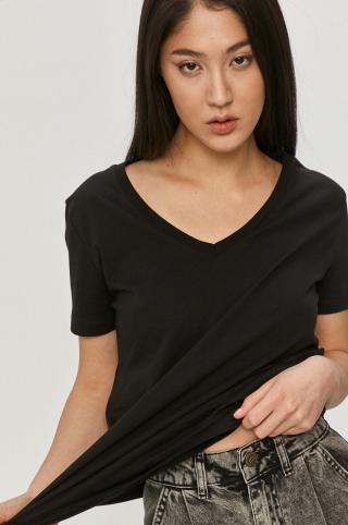 Answear Lab - Tričko dámské čierna S
