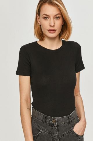 Answear Lab - Tričko dámské čierna XS