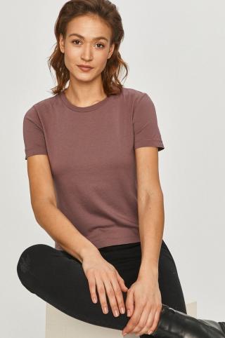 Answear Lab - Tričko dámské fialová S