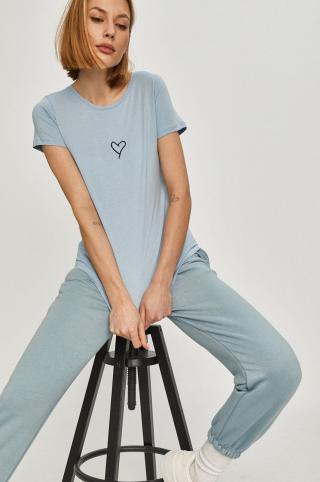 Answear Lab - Tričko dámské modrá M