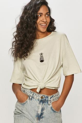 Answear Lab - Tričko dámské tyrkysová S