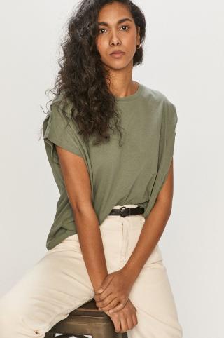 Answear Lab - Tričko dámské zelená S