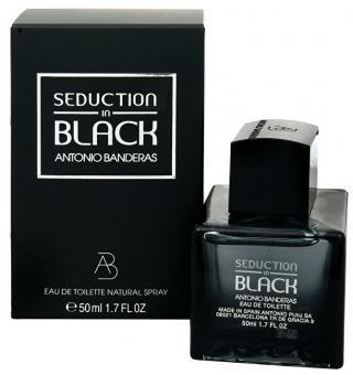 Antonio Banderas Seduction In Black - EDT 50 ml pánské