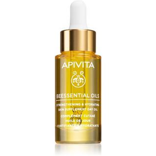 Apivita Beessential Oils rozjasňujúci denný olej pre intenzívnu hydratáciu pleti 15 ml dámské 15 ml