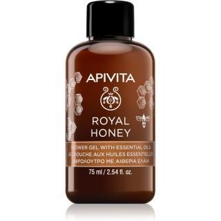 Apivita Royal Honey hydratačný sprchový gél s esenciálnymi olejmi 75 ml dámské 75 ml