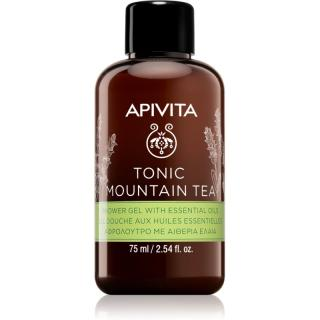 Apivita Tonic Mountain Tea tonizujúci sprchový gél 75 ml dámské 75 ml