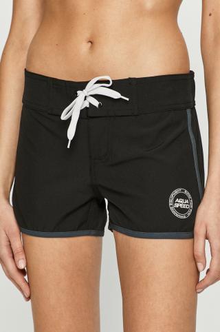 Aqua Speed - Plavkové šortky dámské čierna S