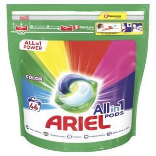 ARIEL All-In-1 PODs Kapsule na pranie Colour, 46 pranie