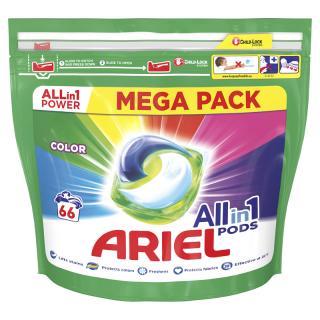ARIEL All-In-1 PODs Kapsule na pranie Colour, 66 pranie