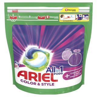 ARIEL All-In-1 PODs   Kapsule na pranie technologie ochrany vláken Kapsule, 41 pranie