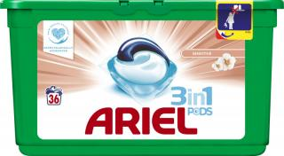 ARIEL Sensitive All in 1  – gélové pracie kapsuly