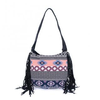 Art Of Polo Womans Bag Tr17352 Black/Pink dámské dwukolorowy One size