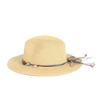 Art Of Polo Womans Hat Cz21271-1 dámské Light Beige One size