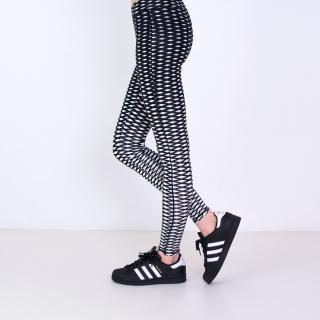Art Of Polo Womans Leggings sk17165 Black One size