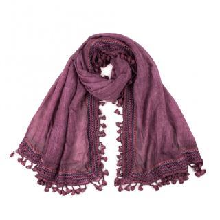 Art Of Polo Womans Scarf sz17384 dámské Purple One size