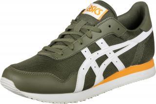 ASICS SportStyle Nízke tenisky Tiger  kaki / biela / oranžová pánské 40,5