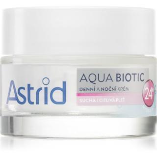 Astrid Aqua Biotic denný a nočný krém pre suchú až citlivú pleť 50 ml dámské 50 ml