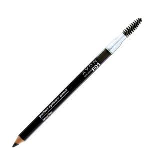 Avon Ceruzka na obočie s kefkou Avon True  1,14 g Medium Brown dámské