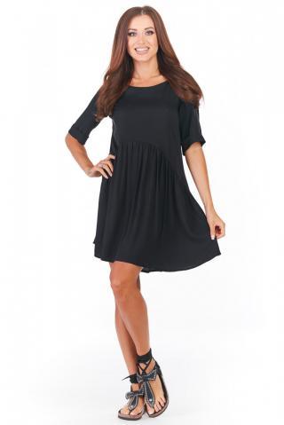 Awama Womans Dress A360 dámské Black S