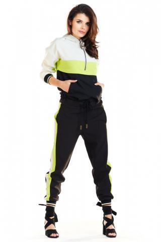 Awama Womans Hoodie A265 Lime dámské Green S