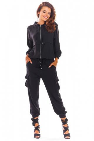Awama Womans Hoodie A294 dámské Black S