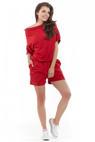 Awama Womans Overall A216 dámské Red S