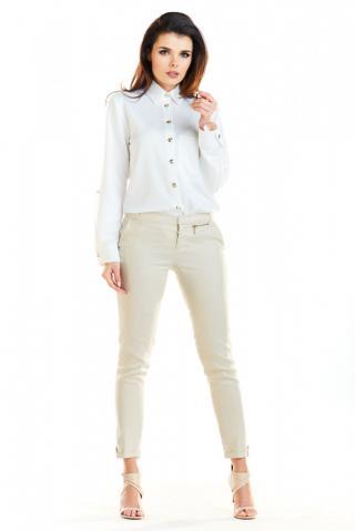 Awama Womans Shirt A275 dámské White S