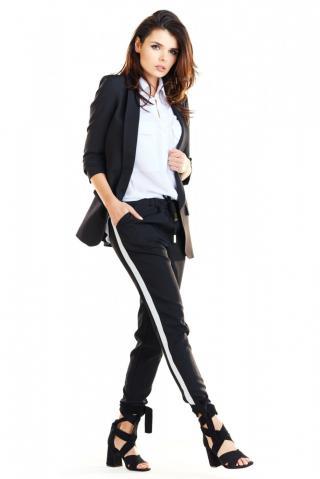 Awama Womans Trousers A270 dámské Black XL