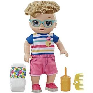 Baby Alive Chodiaca bábika s blond vlasmi