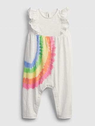 Baby overal rainbow one-piece Biela 86-92