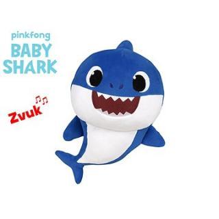 Baby Shark Spandex 27 cm plyšový na batérie so zvukom modrý 0m  vo vrecku