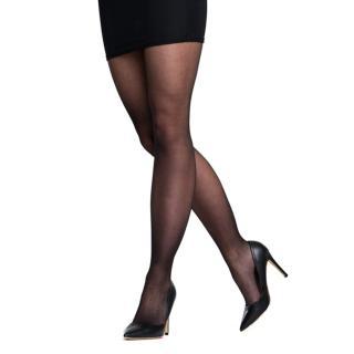 Balenie dvoch extra odolných siloniek v čiernej farbe Bellinda Absolut Resist Pantyhose 15 DEN dámské Neurčeno M