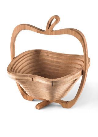 Bambusový košík hnedá