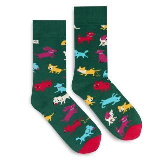 Banana Socks Unisexs Socks Classic Doggo dámské wzorzysty 42-46