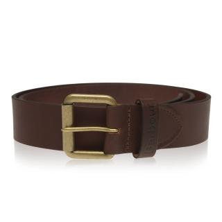 Barbour Matt Leather Belt pánské Other L