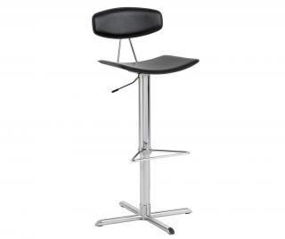 Barová židle Blaise Black Černá
