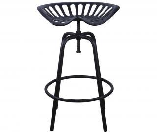 Barová židle Tractor Black Černá
