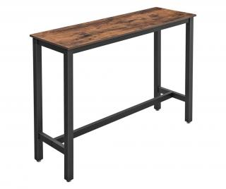 Barový stolík Hnedá