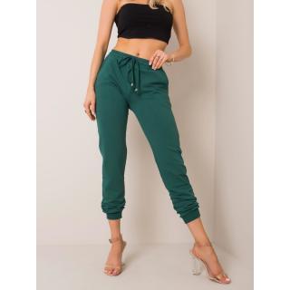 Basic dark green sweatpants dámské Neurčeno XS