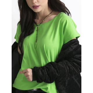 Basic green T-shirt dámské Neurčeno XS
