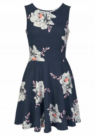 BEACH TIME Letné šaty  tmavomodrá dámské 42