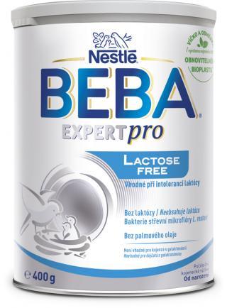 BEBA EXPERTpro Lactose free, počiatočná dojčenská výživa, 0 , 400 g