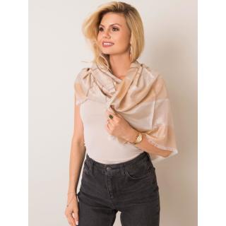 Beige striped scarf dámské Neurčeno One size