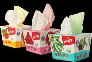 BELLA HAPPY Papierové vreckovky s vôňou, 80 ks - rôzne druhy