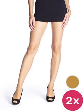Bellinda Dámska sada pančuchových nohavíc Amber 2 Pack Fly 15 Panty hose BE250000 -230 S dámské